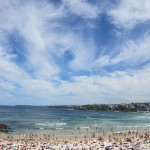 April at Bondi Beach
