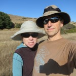 Us at Pt Reyes Selfie